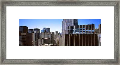 Buildings In A City, Midtown Framed Print by Panoramic Images