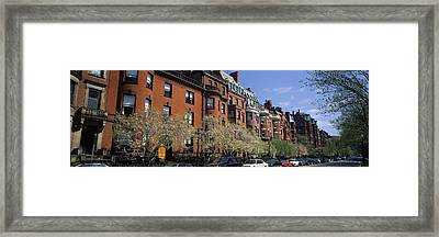 Buildings In A Street, Commonwealth Framed Print by Panoramic Images