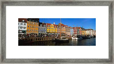 Buildings On The Waterfront, Nyhavn Framed Print by Panoramic Images