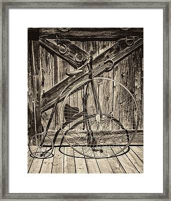 Built For One Framed Print by Nichon Thorstrom