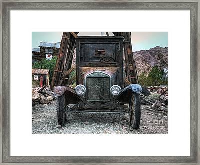 Built Ford Tough Framed Print by Eddie Yerkish