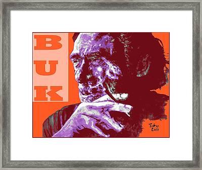 Buk  Framed Print by Richard Tito