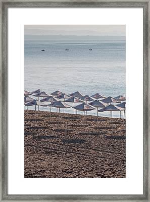 Bulgaria, Black Sea Coast, Burgas, Town Framed Print by Walter Bibikow