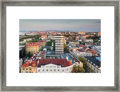 Bulgaria, Black Sea Coast, Burgas Framed Print by Walter Bibikow