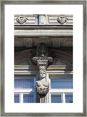 Bulgaria, Danube River And Northern Framed Print by Walter Bibikow
