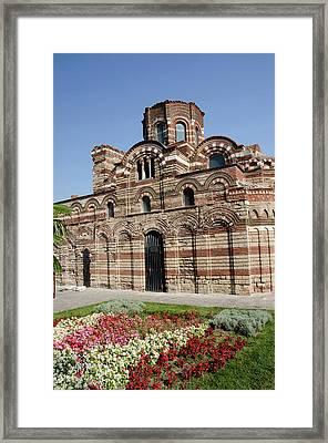 Bulgaria, Nessebur Framed Print by Cindy Miller Hopkins