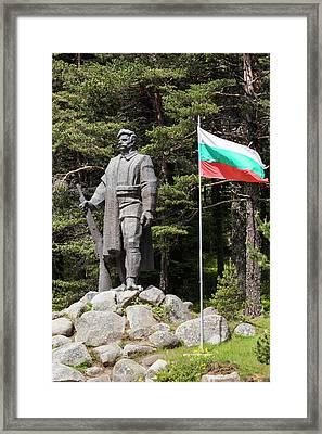 Bulgaria, Southern Mountains, Gotse Framed Print by Walter Bibikow