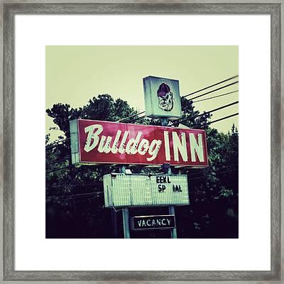 Bulldog Inn Framed Print by Brandon Addis