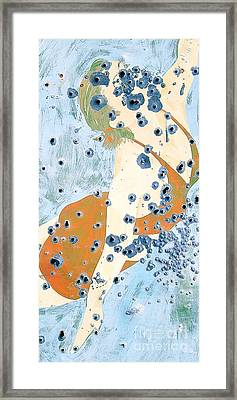 Bullet Holes Phone Case Framed Print by Edward Fielding