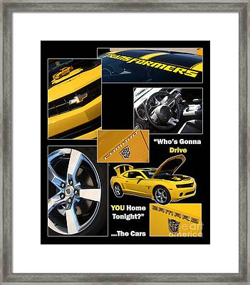 Bumble Bee-drive - Poster Framed Print by Gary Gingrich Galleries