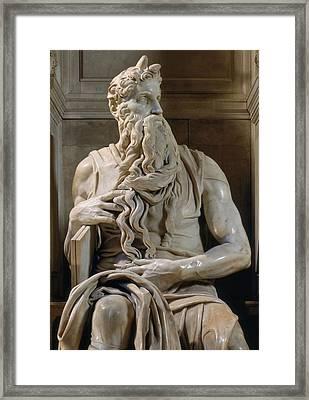 Buonarroti Michelangelo, Tomb Of Giulio Framed Print by Everett