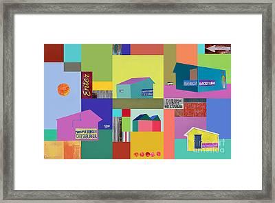 Burger Joint #1 Framed Print by Elena Nosyreva