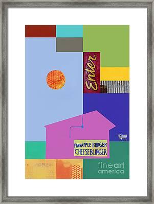 Burger Joint  #4 Framed Print by Elena Nosyreva