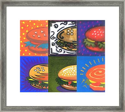 Burger Joint Framed Print by Renu K
