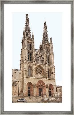 Burgos Cathedral Spain Framed Print by Rudi Prott