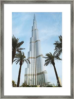 Burj Khalifa Framed Print by Jelena Jovanovic