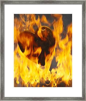 Burning Love C1978 Framed Print by Paul Ashby