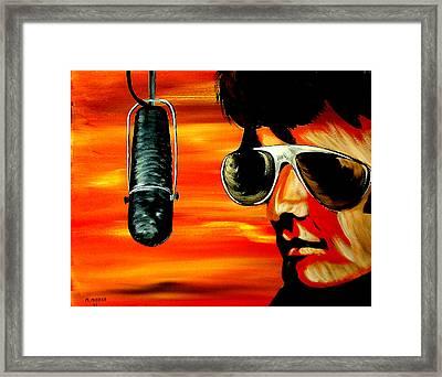 Burning Love  Framed Print by Mark Moore