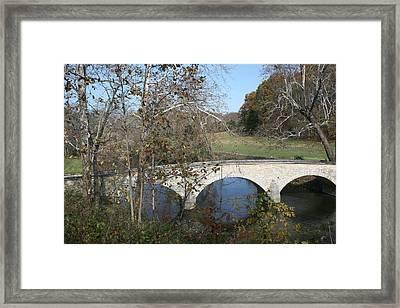 Burnside Bridge Framed Print by Jerry Tompkins