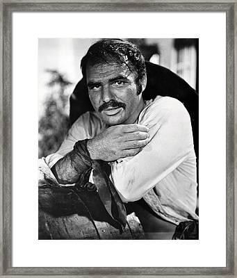 Burt Reynolds In 100 Rifles  Framed Print by Silver Screen