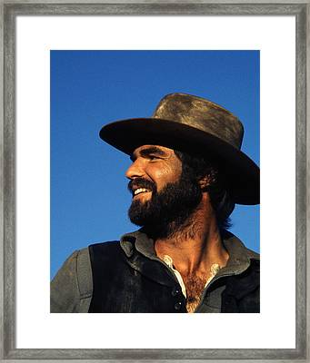 Burt Reynolds In The Man Who Loved Cat Dancing  Framed Print by Silver Screen