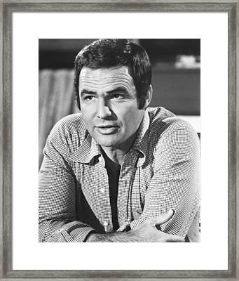 Burt Reynolds Framed Print by Silver Screen