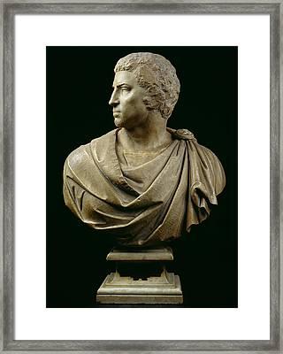 Bust Of Brutus Framed Print by Michelangelo Buonarroti