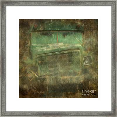 Busted And Broke Framed Print by Bruce Stanfield