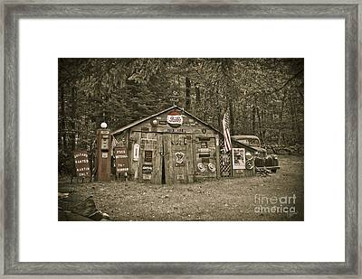 Busted Knuckle Dr Framed Print by Alana Ranney