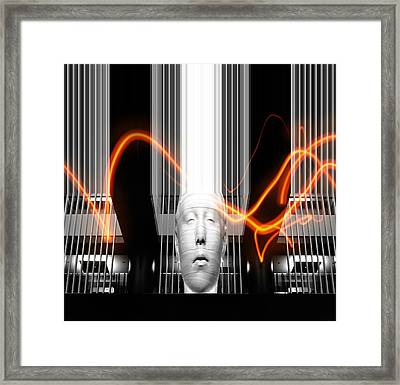 But I Lied Framed Print by Diana Angstadt