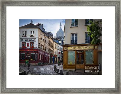 Butte De Montmartre Framed Print by Inge Johnsson