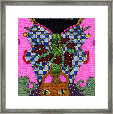Butterfly 3 Framed Print by Therese May
