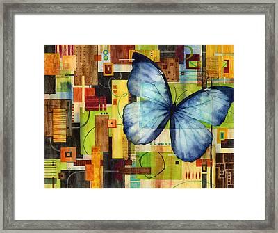 Butterfly Effect Framed Print by Hailey E Herrera