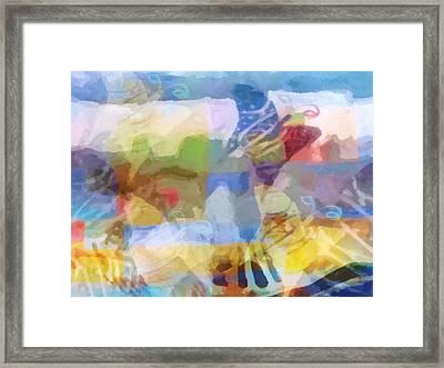 Butterfly Imagination Framed Print by Lutz Baar