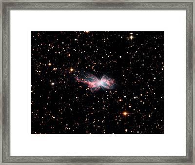 Butterfly Nebula (ngc 6302) Framed Print by Damian Peach