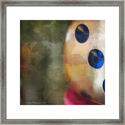 Butterfly Shadows Framed Print by AlyZen Moonshadow