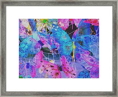 Butterfly Wings Framed Print by Vicki Lomay