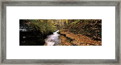 Buttermilk Creek, Ithaca, New York Framed Print by Panoramic Images