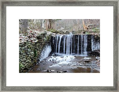 Buttermilk Falls 2 Framed Print by Anthony Thomas