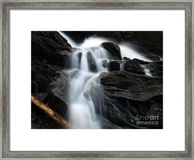 Buttermilk Falls Framed Print by Frank Piercy