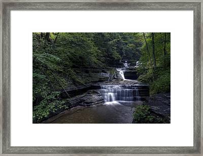 Buttermilk Waterfalls Framed Print by David Simons