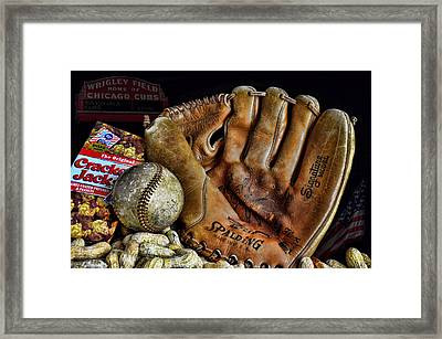 Buy Me Some Peanuts And Cracker Jacks Framed Print by Ken Smith