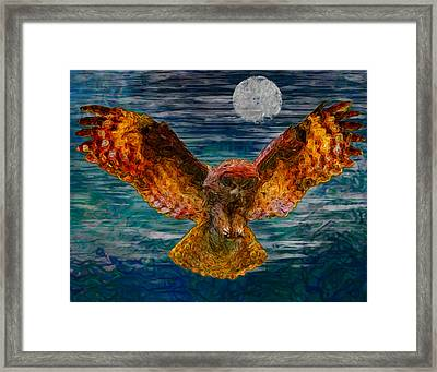 By The Light Of The Moon Framed Print by Jack Zulli