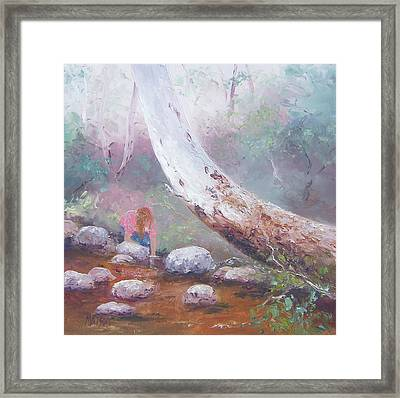 By The Old Gum Tree Framed Print by Jan Matson