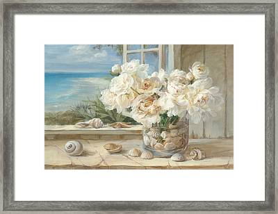 By The Sea Framed Print by Danhui Nai