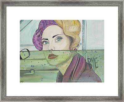 Bye Framed Print by Darlene Graeser