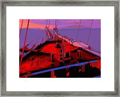 C. A. Thayer Framed Print by Jack Zulli