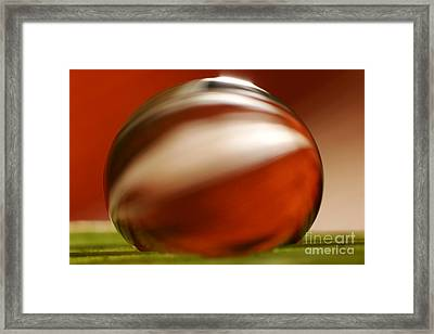 C Ribet Orbscape 1075 Framed Print by C Ribet