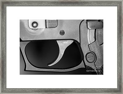 C Ribet Sig Trigger And Release Framed Print by C Ribet