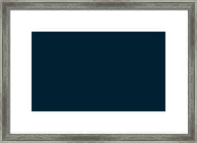 C.1.0-31-51.5x3 Framed Print by Gareth Lewis